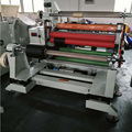DP1300 Rubber Foam Plastic Film Paper Roll Slitter Rewinder Machine
