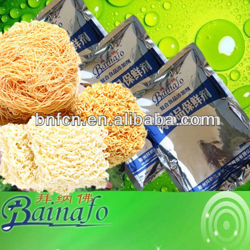 The latest green food preservatives for instant noodles