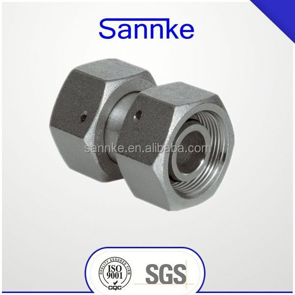 Straight metric union with swivel nuts M16x1,5 10L M14x1,5 08L