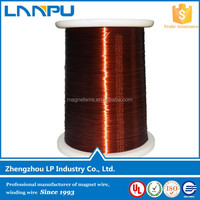 High Temperature Levels Winding Wire Diameter 0.2-4.5mm AWG Enameled Electrical Copper Wire