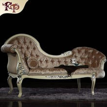 antique hand carved furniture - bedroom furniture chaise lounge