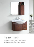 YJ-844 Cabinet set with mirror and side cabinet bathroom sink cabinet