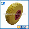 China hot sale PU foam 10 inch 3.00-4 tire 10*3.00-4 Hand trolley wheels
