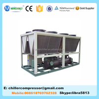 Plastic Injection Molding Machine use Air Cooled Screw Vertical Compressor Chiller with 50Hz&60Hz