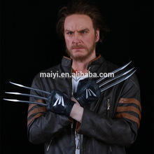 Realistic handmade handcraft sculpture action moive figure Lifesize Wax silicone Figure of Wolverine