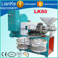 stainless steel palm oil press machine/sesame oil extraction machine/LK80 groundnut oil expeller machine price