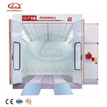 Professional Manufacturer CE Mini Bus Mobile Used Spray Booth For Sale
