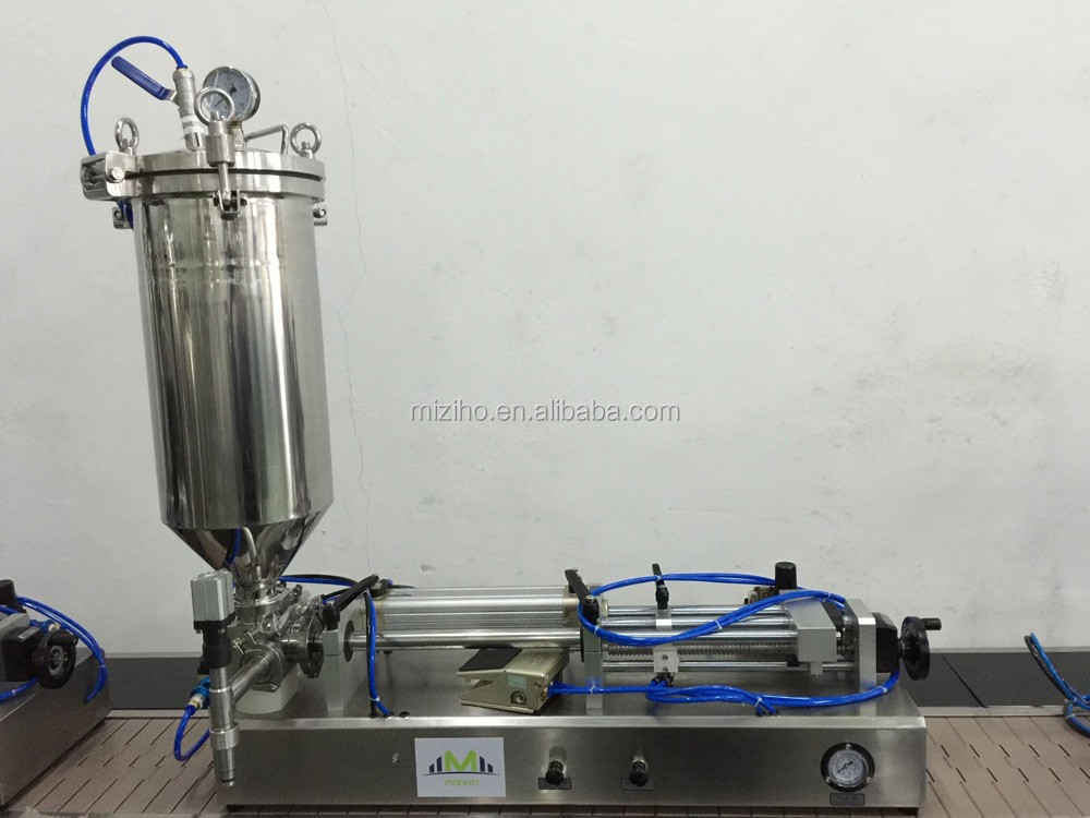 MZH-F 5-15ml semi-automatic cosmetic lipstick filling machine
