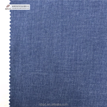 Cotton/poly yarn dyed twill fabric