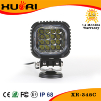 High quality round shape CE ROHS FCC E-mark listed waterproof 48w tractor led work light