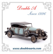 Wholesale metal crafts model car vintage car model hand made home decorative products