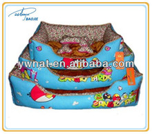 BAOJIE Leopard grain ger kennel dogs/cats/ribbits cushion bed pet waterloo for small dogs/ hamster