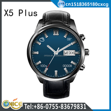 X5 plus GPS wifi smart watch round design GSM unlocked WCDMA 3G fashion watch phone