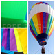 Buy direct from manufactures on sale custom waterproof ripstop pvc coated hot air balloon fabric