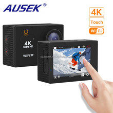 4K Touchscreen Action Camera 2inch LCD Wireless 16MP Ultra HD 170 degrees Wide Angle Sport Camera