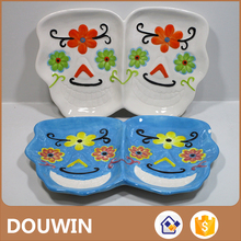 Top quality ceramic plate dishes with certificate