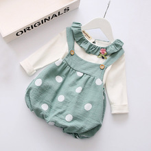 2017 Girl party wear western dress baby girl children designs one piece party girls dresses