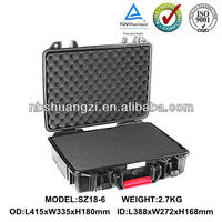 Laptop protective hard cases & equipment carrying case waterproof storage case