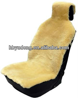 sheepskin fur car seat cover with high quality