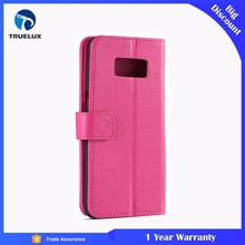 High Quality PU Wallet Case With TPU for Samsung Galaxy Note 2 Flip Lychee Leather