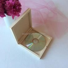 unfinished wooden CD DVD box