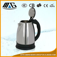 stainless steel electric boiling tea jug/ water heating kettle