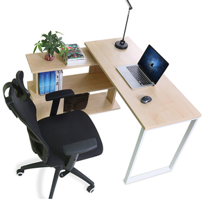 Home Office Furniture Computer Desk with Bookshelf for Student
