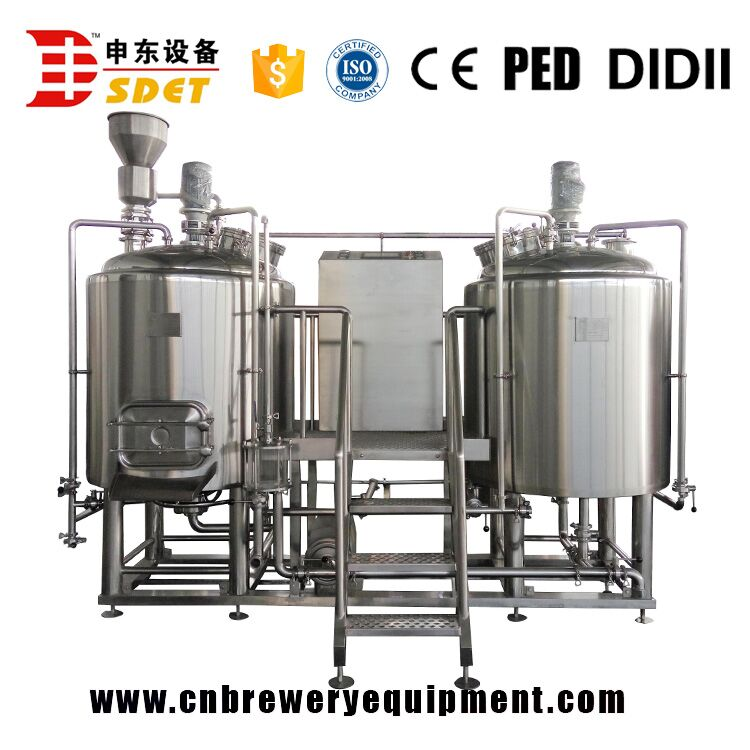 Hot sale 5bbl beer machine , Mini craft beer brewery equipment