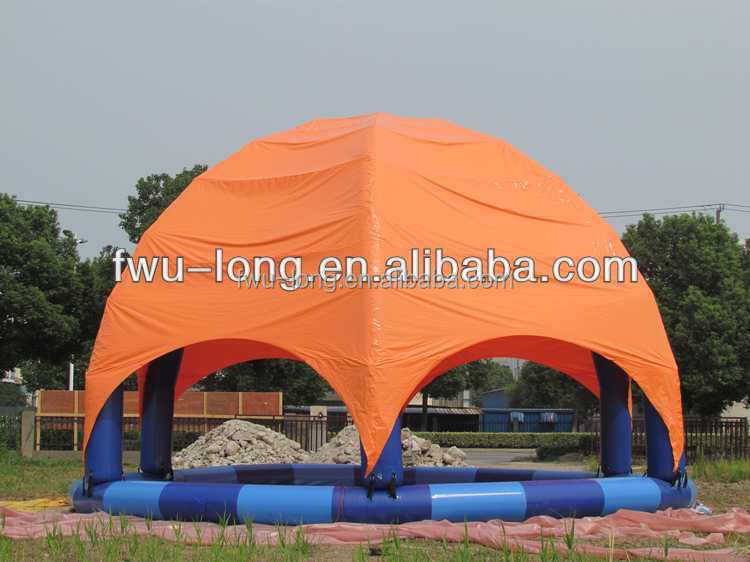 Portable Ce Certification Inflatable Adult Swimming Pool Cover Inflatable Pool Tent Buy