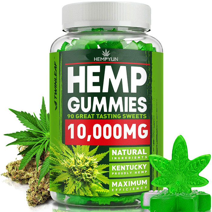 100% <strong>Natural</strong> &amp; Safe Pain Relief Hemp CBD Gummies Premium Herbal Extract Pain, Stress &amp; Anxiety Relief