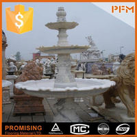 China best price marble fountain with horses