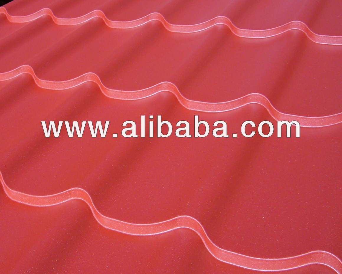 Steel roofing tile for house