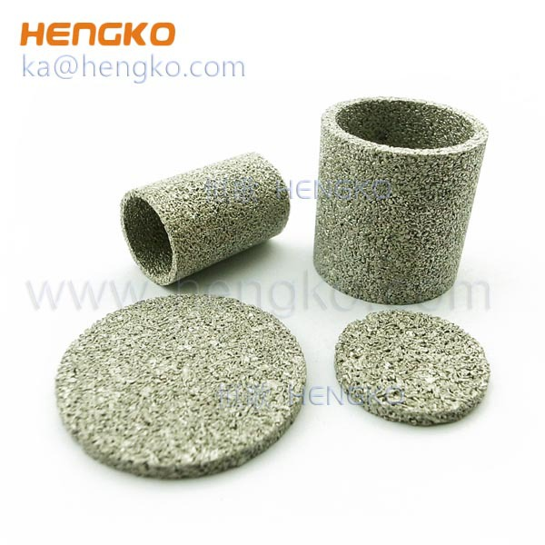 0.5um to 300 Microns Stainless Steel Bronze Metal Porous Sintered Filters