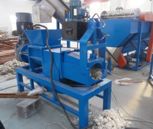 Film recycling machine line-film screw squeezer machine