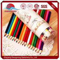 Hot Selling Cheap Colorful Professional colour pencil set Supplier made of wooden