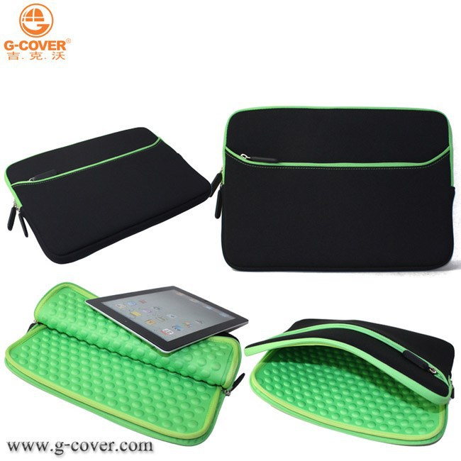 Neoprene zipper pading protective sleeve for 11.6inch Chromebook Macbook air laptop