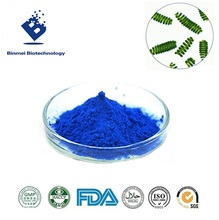 Binmei natural edible blue pigment spirulina extract organic phycocyanin powder for icecream