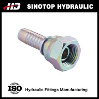 metric female multiseal hydraulic hose fitting
