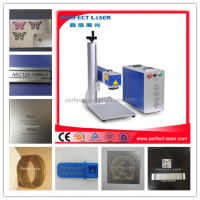 Animal Ear Tag/Button 20w fiber laser marking machine price