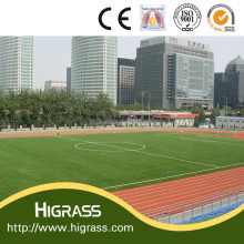 HIGRASS 2015 Hot selling synthetic grass for soccer fields