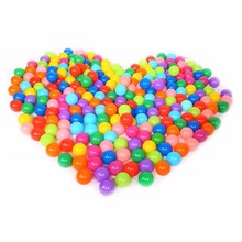 6.5CM Colorful Plastic Children Play Ground Ocean Ball