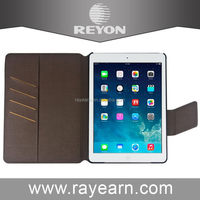 Contemporary antique leather for ipad min smart cover case