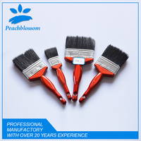 Hot Sale 12pcs Wooden Handle Bristle Paint Brush Set Free Sample Hand Tools In Brush