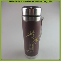 Keeping drinks hot and cold for 24 hours vacuum flask/vacuum thermos with cup