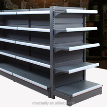 Rolling snack fixture warehouse rotary display rack stand gondola shelving system