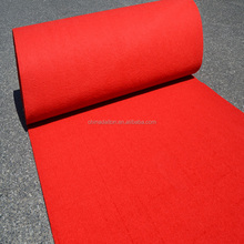 Needled Punch Anti Skid Red Carpet Outdoor Water Proof