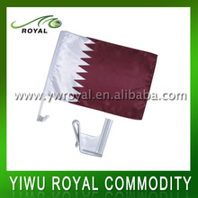 Popular Qatar National Hanging Window Sports Car Flag