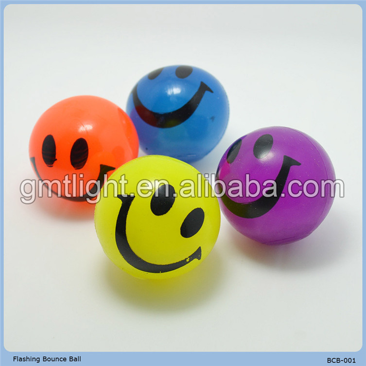 promotional animal head bouncing ball