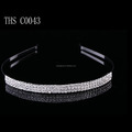 2016 New fashion jewelry wedding hair band crystal hairband