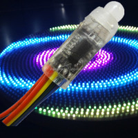 mini led festival decorative serial lights rgb pixel dmx control